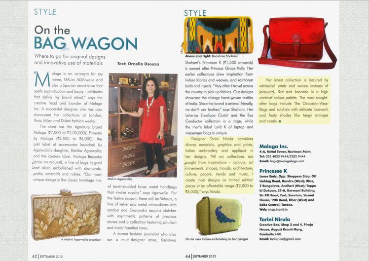 Taj City Guide, Sept - 2012
