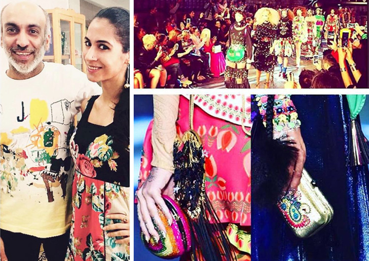 Collaboration with Manish Arora for Paris Fashion Week Sept - 2015