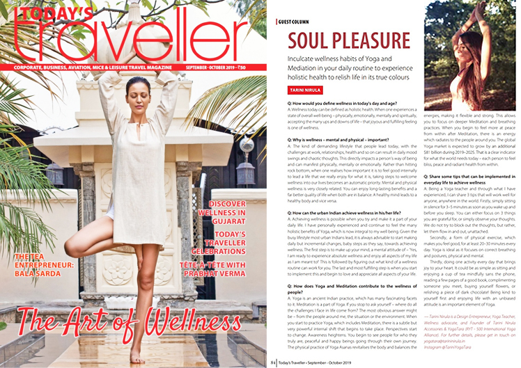 Today's Traveller, October 2019
