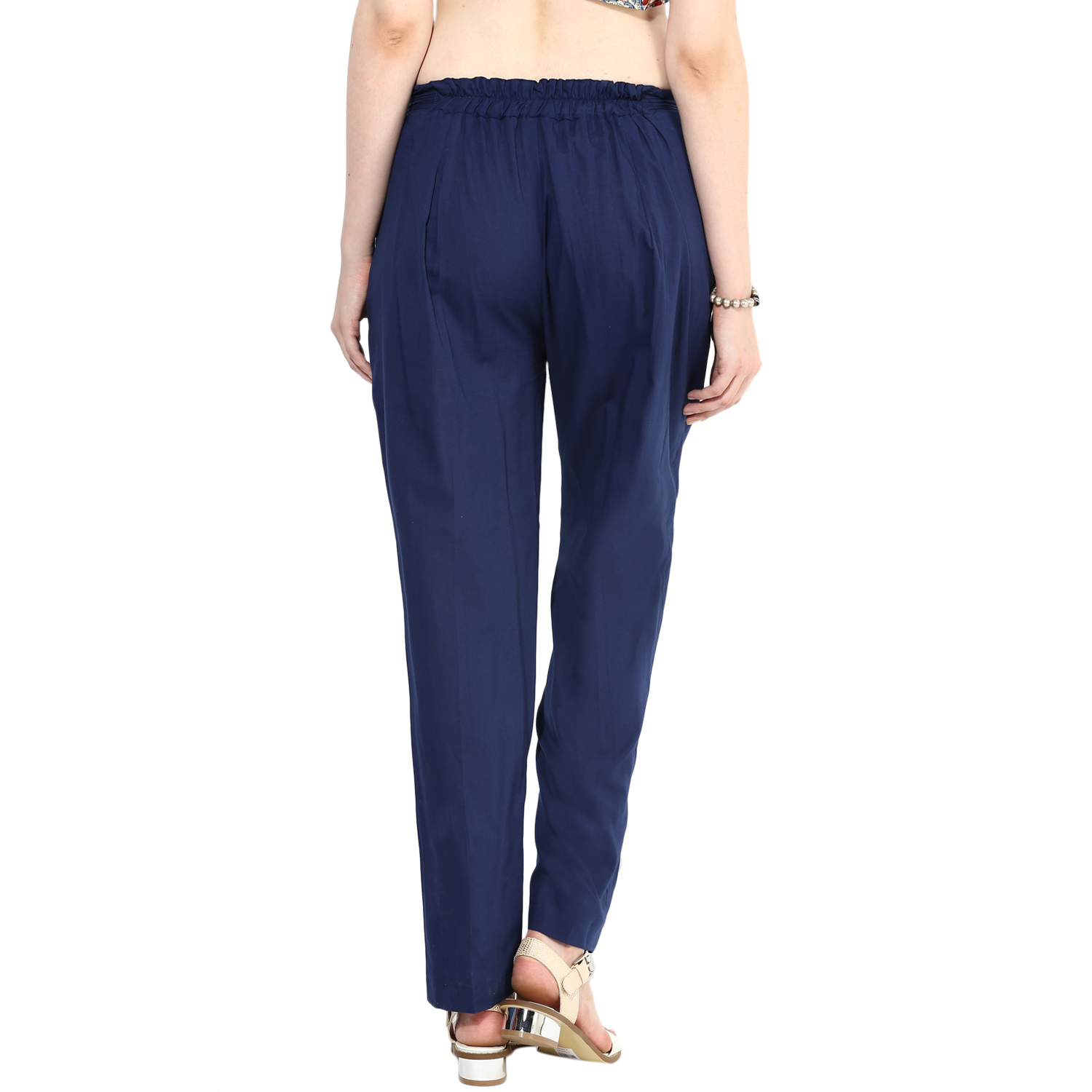Navy straight pants (INDI-26)