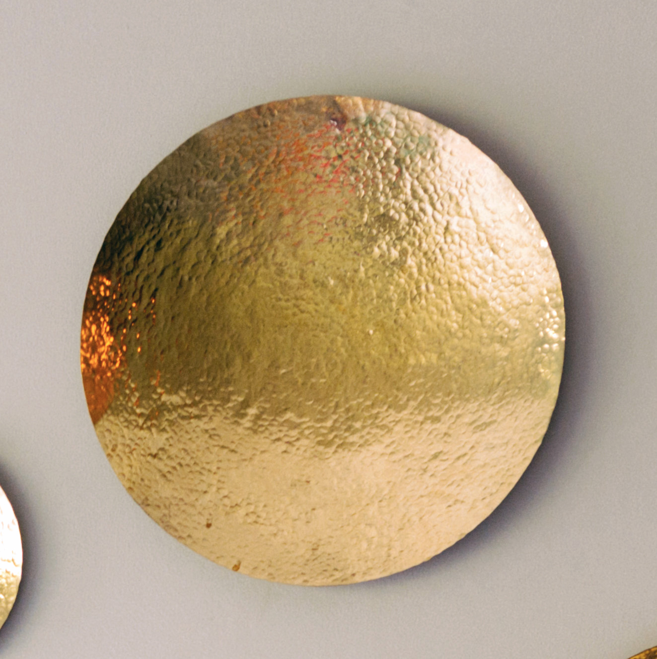 Thatera Pure Brass Wall Art - 13.5 Inches